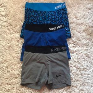 Dri-fit Nike Pro shorts